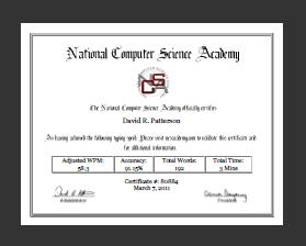 NCSA Typing Test